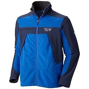 Mountain Hardwear Men's Mountain Tech Jacket, Azul / Collegiate Navy, Small