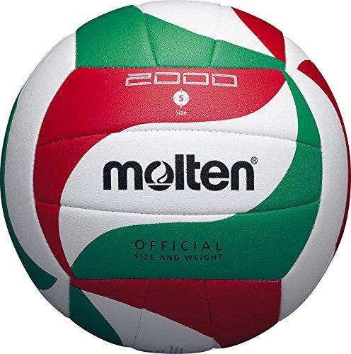 Molten Volleybal V5M2000 Weiß/Grün/Rot 5