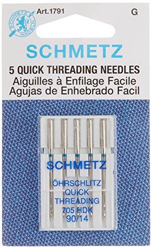 Schmetz 1791 Self-Threading Machine Needle Size 14/90