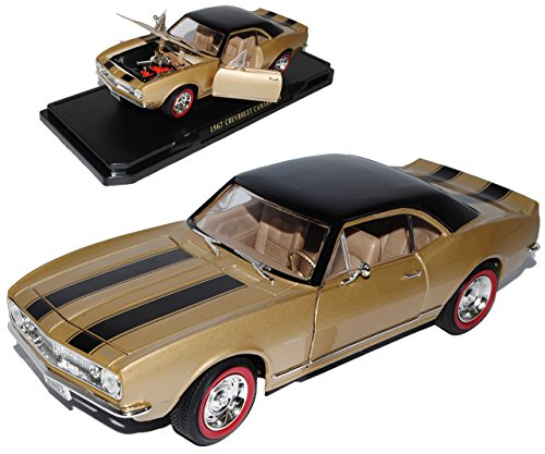 Chevrolet Camaro Z28 Coupe Braun Gold 1. Generation 1966-1970 1/18 Yatming Lucky Die Cast Modell ()