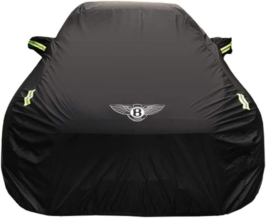 Compatible With Car Cover For Bentley Continental//Mulsanne//Speeding//Timor//Phev//Gt//Gtc All Weather Four-Layer Waterproof Cover Full Car Breathable Mobile Garage Outdoor Protect Car Paint Cover
