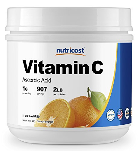 Nutricost Pure Ascorbic Powder Vitamin product image