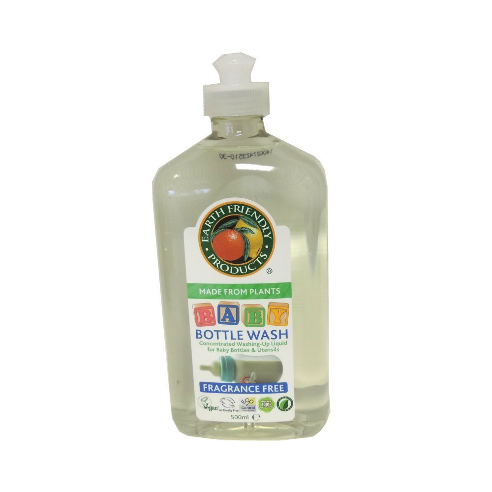 Earth Friendly Baby Bottle Wash