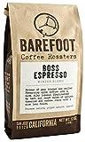 Barefoot Coffee 'The Boss Espresso' Medium Roasted Fair Trade Organic Whole Bean Coffee - 12 Ounce Bag