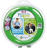 Kalencom Potette Plus Potty and Trainer Seat, Blue/Red