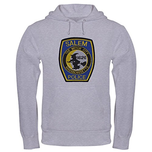 CafePress - Salem Police Hooded Sweatshirt - Pullover Hoodie, Classic & Comfortable Hooded (Salem Mass Witch Trials Halloween)