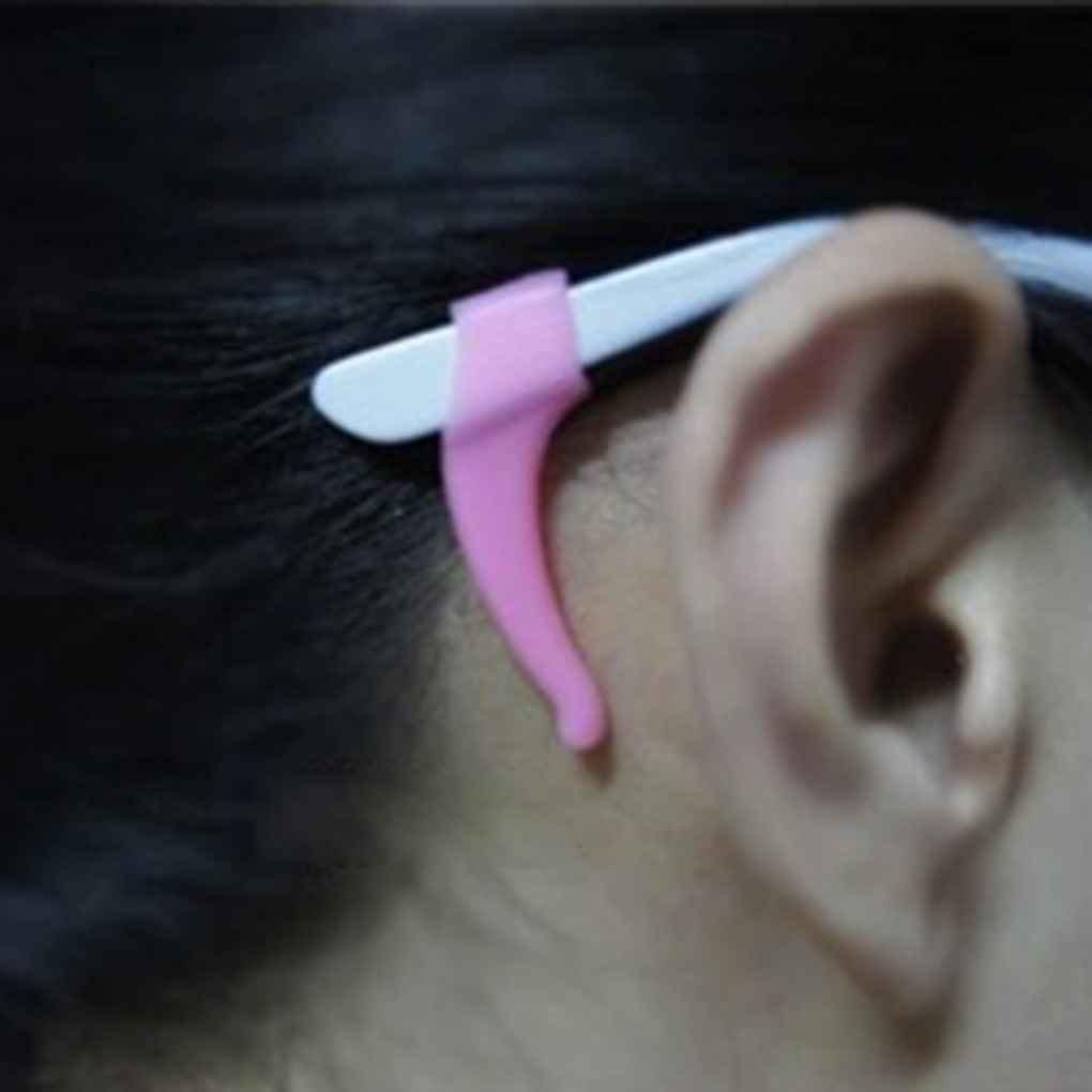 Lidahaotin 2 Paare Anti-Rutsch-Tip Ohr Grip Silikon Haken Brille Brillenhalter Sport