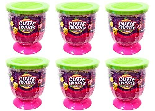 Cutie FRUITIES MINIS Bundle LOT of 6 - Total of 18 Plush Sweet Surprises