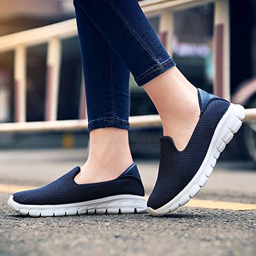 VenusCelia Damen gehen 2 Walk On Air Turnschuhe Schuhe Tief / Marine