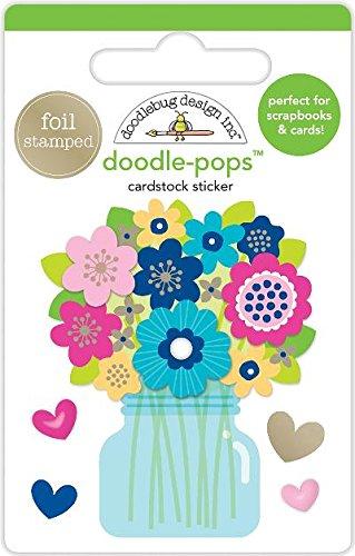 Doodlebug Doodle-Pops 3D Stickers-Just ()