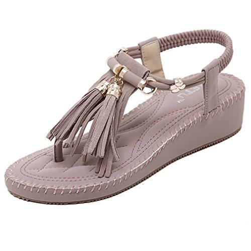 Sandalo Con Cinturino In Nappa A Rombi Moda Romana Con Cinturino Alla Caviglia Per Le Donne Viola Chiaro