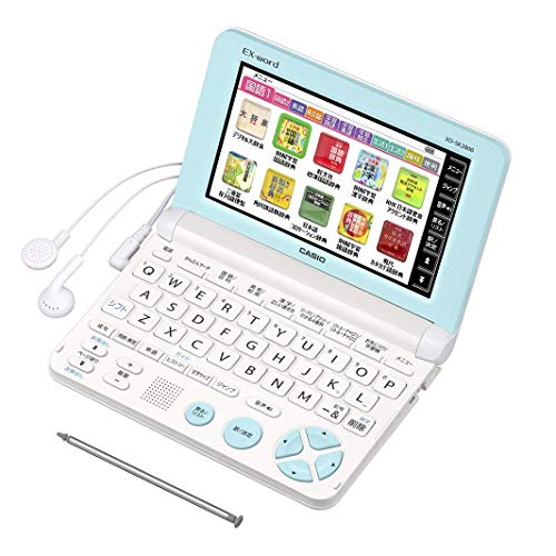 Casio electronic dictionary Data Plus 6 elementary school upper grades model XD-SK2800WE White in USA