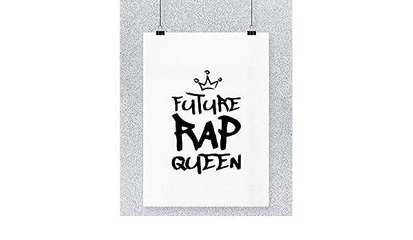 Compra Hippowarehouse Future Rap Queen Cartel Impreso Pared ...