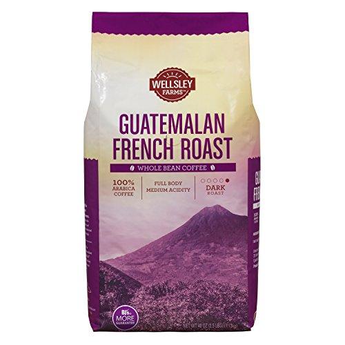Wellsley Farms French Roast Guatemalan Whole Bean Coffee, 40 - Farm French