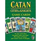 Settlers Of Catan Cities & Knights Replacement Game Cards -Revised Edition