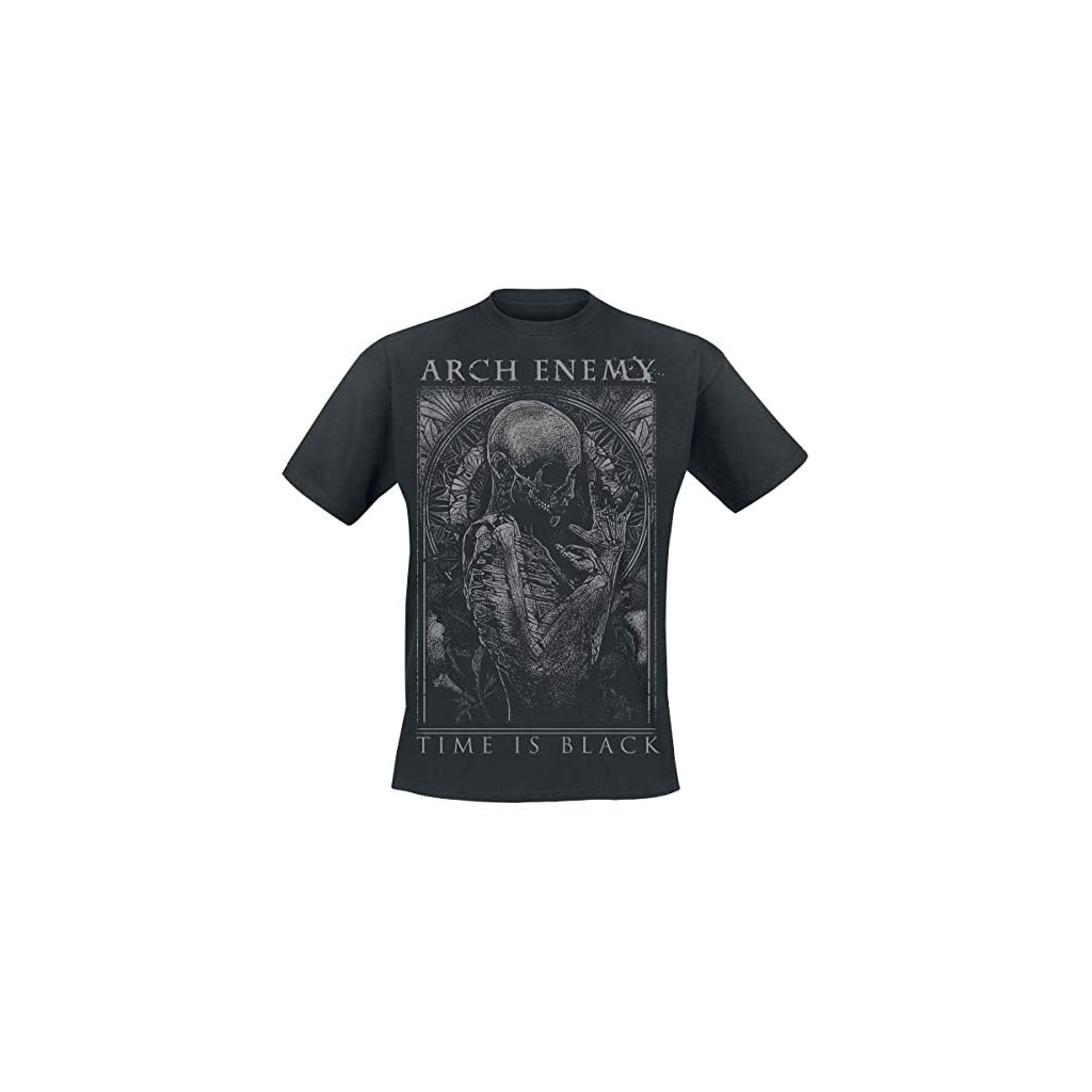 Arch Enemy Time Is Black Camiseta