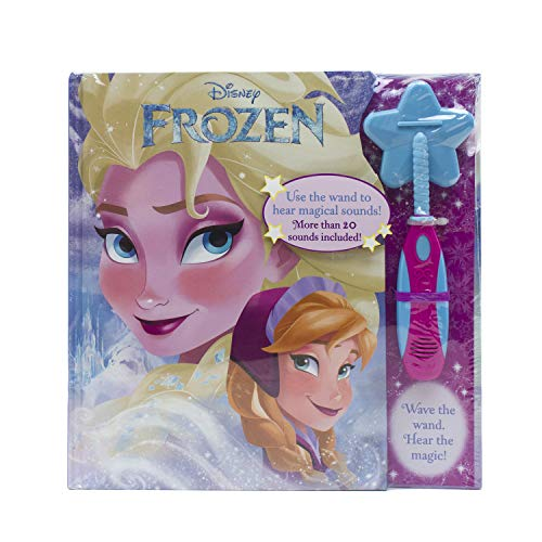 - Magic Wand book Disney Frozen with Foil