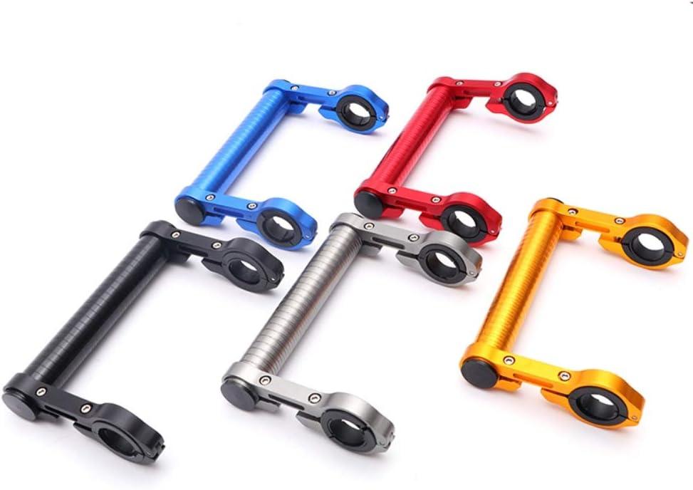 Gyratedream 15 cm Radfahren Lenker Fahrrad Taschenlampe Halter Lenker Fahrrad Extender Halterung Fahrrad Zubeh/ör