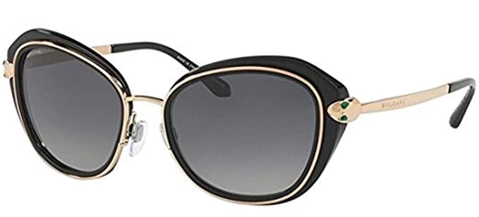 Amazon.com: Bvlgari Mujer bv8190kb anteojos de sol: Clothing