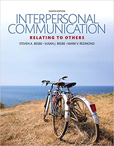 Interpersonal Communication Text