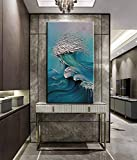 YaSheng Art - sea landscapes Abstract Oil