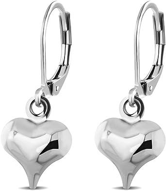 Amazon.com: 555Jewelry - Pendientes de acero inoxidable para ...