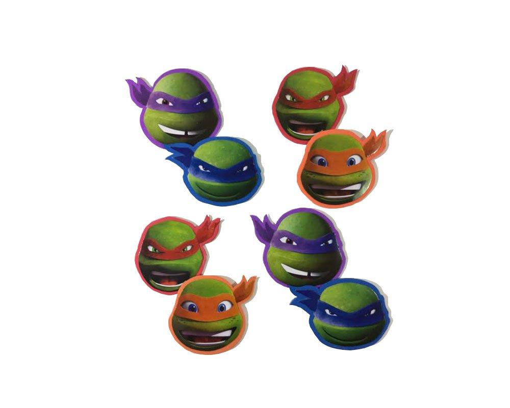 Amazon.com: Ninja Turtle Badge Set (Leonardo, Donatello ...