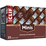 CLIF BAR - Mini Energy Bar - Chocolate Brownie - (0.99 Ounce Snack Bar, 20 Count)