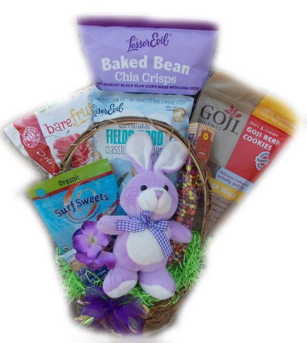 Krinkle Sticks - College Student Healthy Easter Basket by Well Baskets