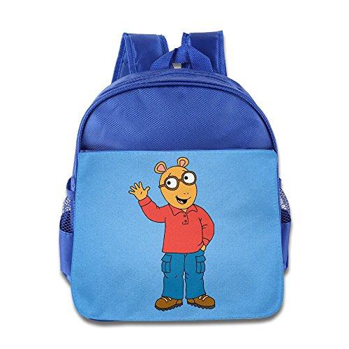 Price comparison product image Arthur Cartoon Customed Unisex Kids School Backpack