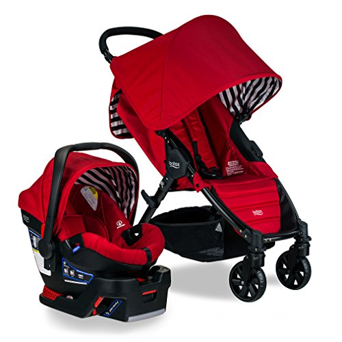 Britax Pathway & B-Safe 35 Travel System, Cabana (Travel System Car Seat Adapter)