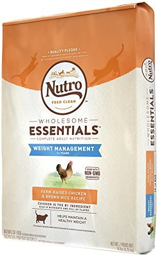 Nutro Wholesome Essentials Weight Management Dry Cat Food, Chicken 5