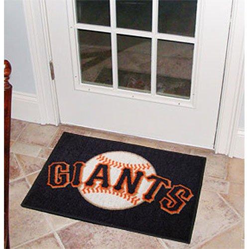 San Francisco Giants Baseball Mat (FANMATS MLB San Francisco Giants Nylon Face Starter Rug)