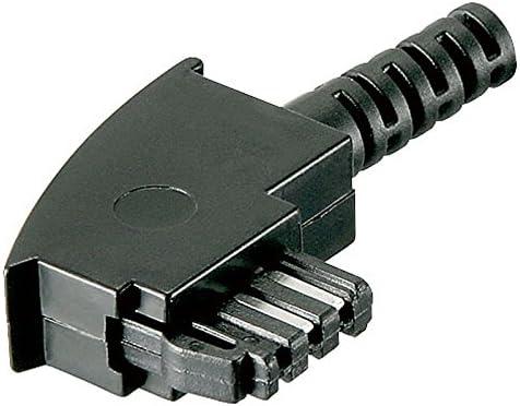 2 Stück Telefon Tae F Stecker Unmontiert Lötversion Elektronik