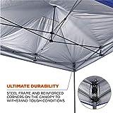 Pop Up Canopy Tent, Heavy Duty, 10' x