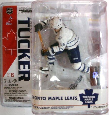 (McFarlane Toys NHL Sports Picks Series 15 Action Figure Darcy Tucker (Toronto Maple Leafs) White Jersey)