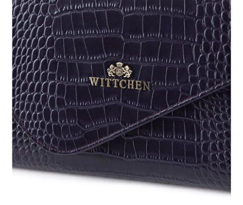 WITTCHEN Borsa classica, Viola - Dimensione: 15x28cm - Materiale: Pelle di grano -Accomoda A4: No - 15-4-330-F