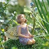 Miniature Fairy Garden Forget-Me-Not Fairy, Baby & Kids Zone