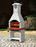 Banquet Jamaica Masonry Charcoal Barbecue