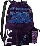 TYR Big Mesh Mummy Backpack Purple, One Size