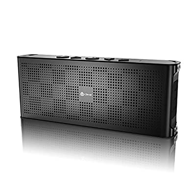 iClever Aluminum Alloy Ultra Slim Pocket-Sized Bluetooth Speaker with Mic
