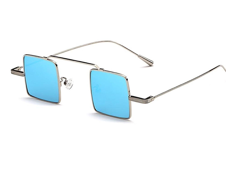 Hero Retro vintage small square box sunglasses personality unisex sunglasses