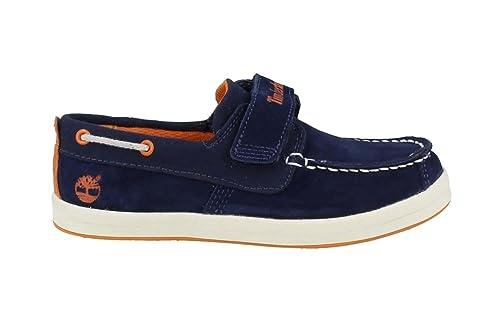 Timberland Dover Bay Hook and Loop, Mocasines Unisex Niños: Amazon.es: Zapatos y complementos