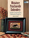 Miniature Punchneedle Embroidery: Simple Techniques Beautiful Projects
