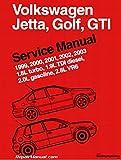 VG03 Volkswagen Jetta Golf GTI 1.8L turbo, 1.9L TDI diesel, 2.0L gasoline, 2.8L VR6 Service Manual 1999-2003