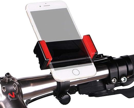 Yao Space - Soporte para Smartphone de 3,5 a 6,5 Pulgadas, Soporte elástico para teléfono Frontal, Marco de navegación para Bicicleta de montaña y Motocicleta, antivibraciones: Amazon.es: Hogar