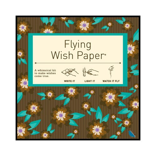 Flying Wish Paper Chocolate Mint Small - Anniversary Mint Chocolate