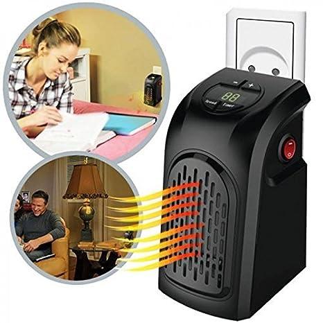 Stufa Stufetta Elettrica Portatile Heater A Basso Consumo 350w Gradi
