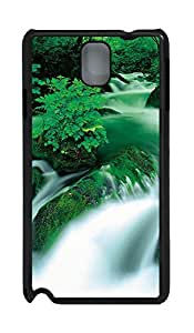 Samsung Note 3 Case Green River PC Custom Samsung Note 3 Case Cover Black