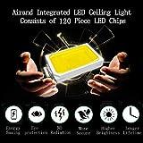 Airand 4000K Ceiling Lights LED Flush Mount 18W